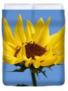 Bright Yellow Happy Sunshine Duvet Cover