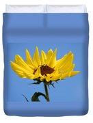 Bright Yellow Happy Sunshine Duvet Cover