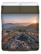 Sunset From Beinn Ghlas - Scotland Duvet Cover