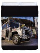 Bejeweled Bus Duvet Cover