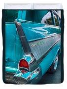 Bel Air Tail Fin Duvet Cover