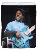 Bela Fleck And The Flecktones Duvet Cover