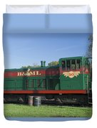 Belfast And Moosehead Lake Railroad Maine Img 6151 Duvet Cover