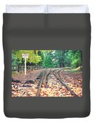 Belgrave Puffing Billy Railway Track Duvet Cover