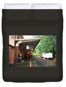 Belgrave Train Station Duvet Cover