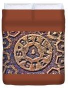 Bell Medallion Duvet Cover