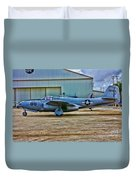 Bell P-59 Airacomet Duvet Cover