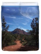 Bell Rock Trail Duvet Cover