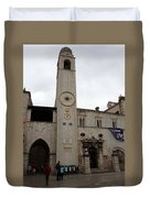 Bell Tower At Luza Square Duvet Cover