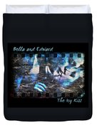 Bella And Edward - The Icy Kiss Duvet Cover