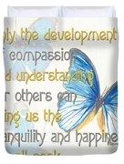 Bella Butterflies 1 Duvet Cover