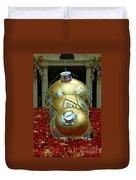 Bellagio Christmas Ornaments Duvet Cover
