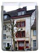 Belle Epoque House Duvet Cover
