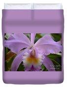 Belle Isle Orchid Duvet Cover