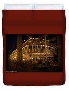 Belle Of Louisville Lights Duvet Cover