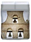 Bells Of Mission San Diego Duvet Cover