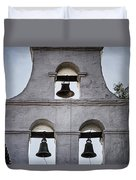 Bells Of Mission San Diego Too Duvet Cover