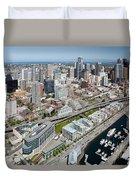 Belltown In Downtown Seattle Duvet Cover