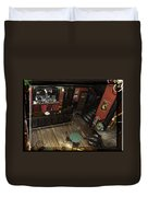 Belly Up To The Bar Boys Duvet Cover