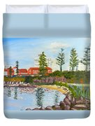 Belmore Basin From The North Sea Wall Duvet Cover