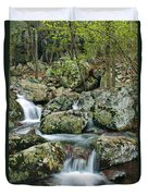 Below Mina Sauk Falls 1 Duvet Cover