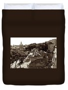 Below The Capitoline Hill Duvet Cover