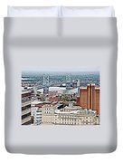 Ben Franklin View Duvet Cover