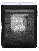 Ben Hur Coffee Duvet Cover