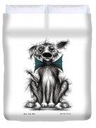 Ben The Dog Duvet Cover