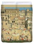 Benares Duvet Cover