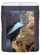 Bend In The Colorado River Duvet Cover