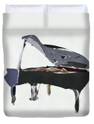 Bendy Piano Duvet Cover by David Ridley