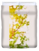 Beneath A Tree  14 5194  Diptych  Set 2 Of 2 Duvet Cover by Ulrich Schade