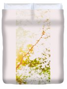 Beneath A Tree  14 5199  Diptych  Set 2 Of 2 Duvet Cover by Ulrich Schade