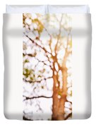 Beneath A Tree 14 5286 Triptych Set 1 Of 3 Duvet Cover by Ulrich Schade