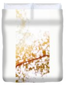 Beneath A Tree 14 5286 Triptych Set 3 Of 3 Duvet Cover by Ulrich Schade
