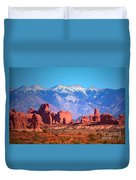 Beneath Blue Skies Duvet Cover