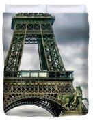Beneath The Eiffel Tower Duvet Cover