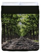 Beneath The Vines Duvet Cover