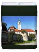 Benedictine Abbey Duvet Cover