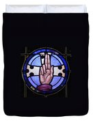 Benediction To Blessing Duvet Cover