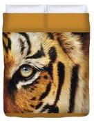 Bengal Tiger Face Duvet Cover