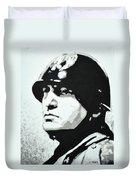Benito Mussolini Duvet Cover