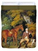 Benjamin Bond Hopkins, Before 1791 Duvet Cover