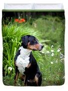 Bennett In The Garden Duvet Cover