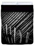 Benone - Shadow Fencing Duvet Cover