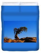 Bent By The Wind Duvet Cover