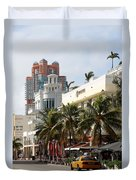 Bentley Hotel Miami Duvet Cover