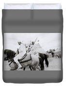 Berber Horsemen Duvet Cover