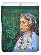 Berber Woman Duvet Cover